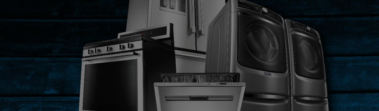 Get appliance repair and help with Maytag support.