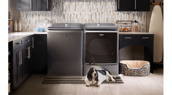 Discover Maytag gas dryer vs electric dryer features.