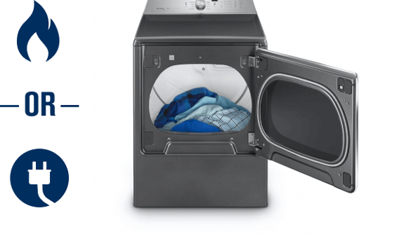 Maytag gas vs electric dryers.