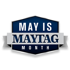 May is Maytag Month Logo