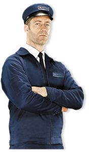 Maytag Man Close Up, Arms Folded