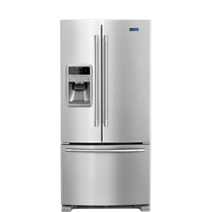 33-Inch Wide French Door Refrigerator – 22 cu. ft.