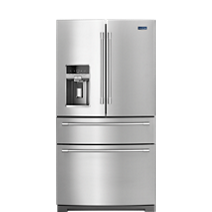 36-Inch Wide 4-Door French Door Refrigerator - 26 cu. ft.
