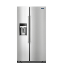 36-Inch Wide Side-by-Side Counter-Depth Refrigerator – 21 cu. ft.