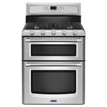 30-inch Wide Double Oven Gas Range with Power™ Burner - 6.0 cu. ft.